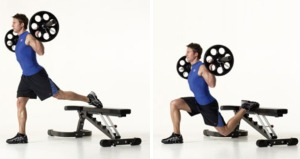 bulgarian-barbell-split-squat